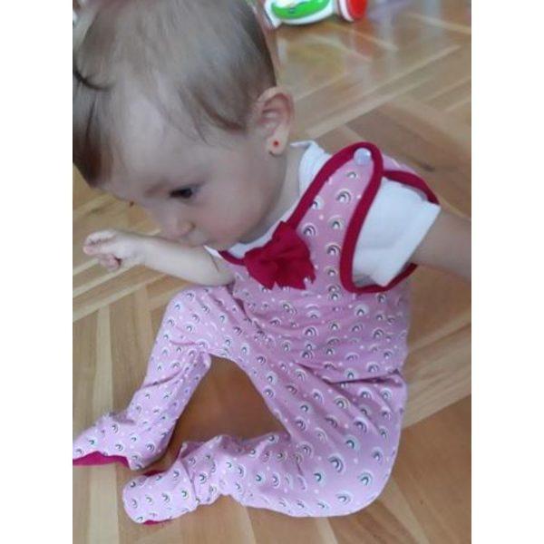 wykrój na śpiochy newborn dla chłopca lub dziewczynki