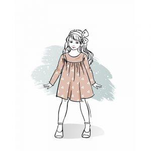 wykrój na sukienkę dla dziewczynki Wiki