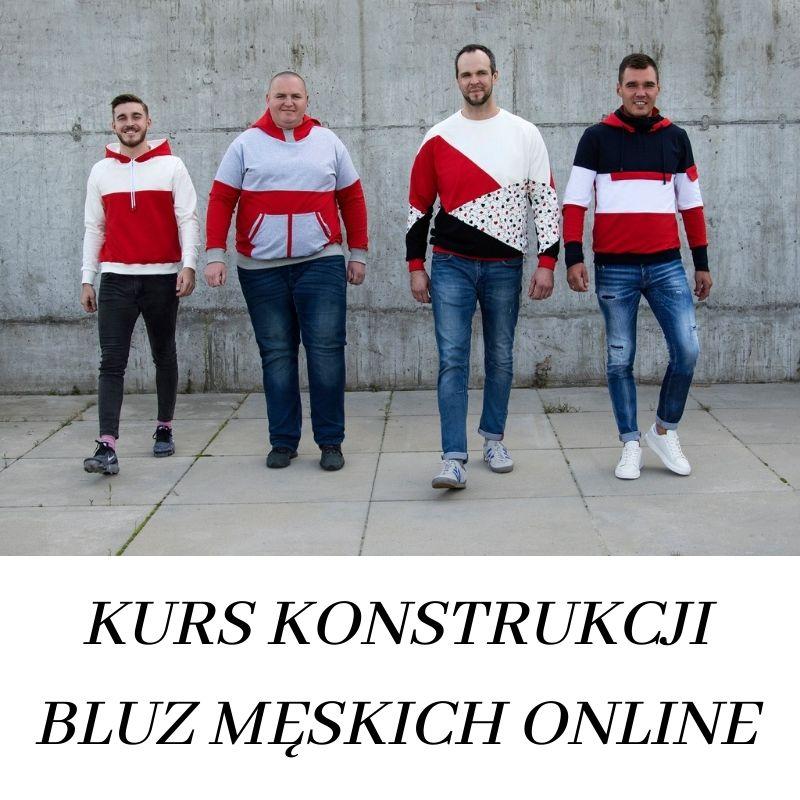 Kurs konstrukcji bluz męskich online