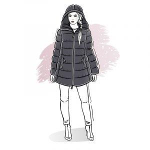 wykrój na kurtkę damską Prestige