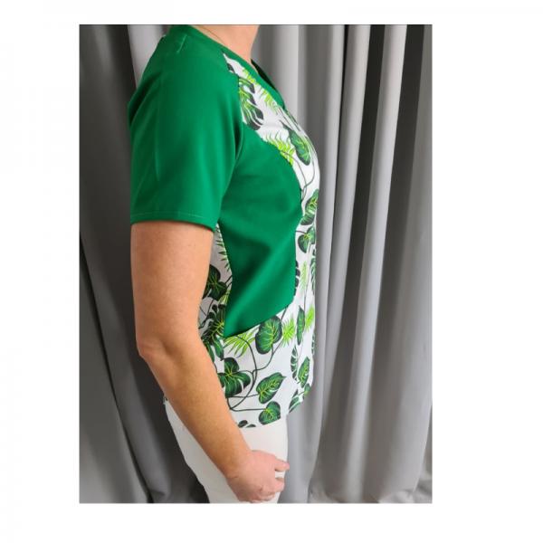 wykrój na bluzę medyczną damską online