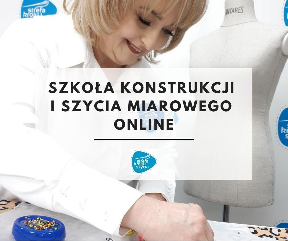 Szkoła konstrukcji iszycia miarowego online Strefa Kroju iSzycia