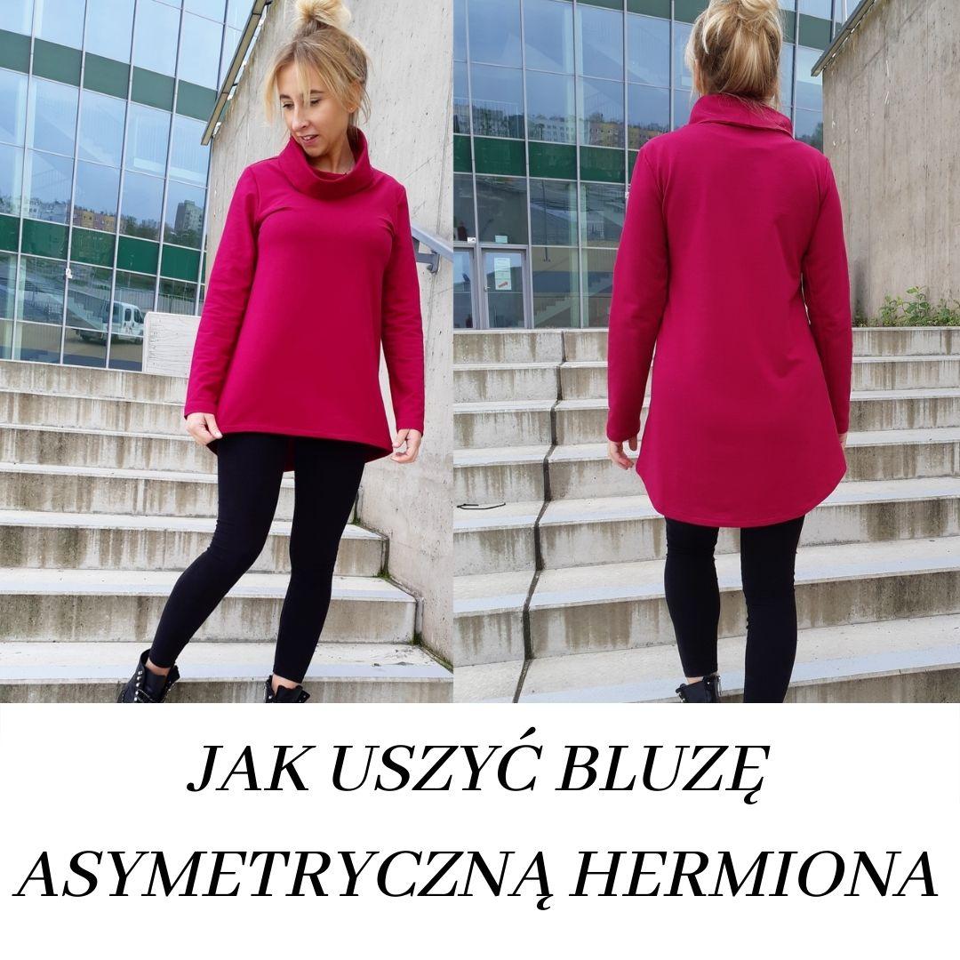 kurs online Jak uszyć bluzę asymetryczną Hermiona