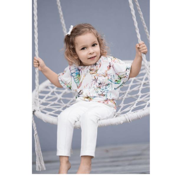 wykrój na t-shirt dziecięcy Doris