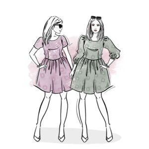 wykrój na sukienkę damską Melisa