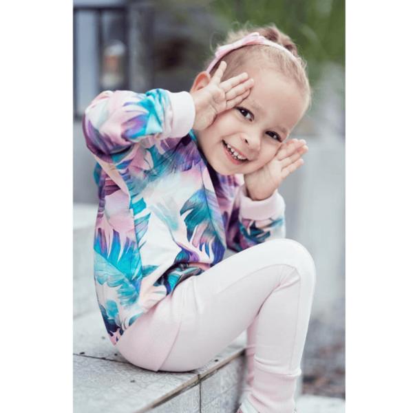 wykrój na werkę dziecięcą strefa kroju i szycia
