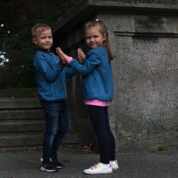 bomberka dziecięca rękaw główkowy raglanowy wykrój online
