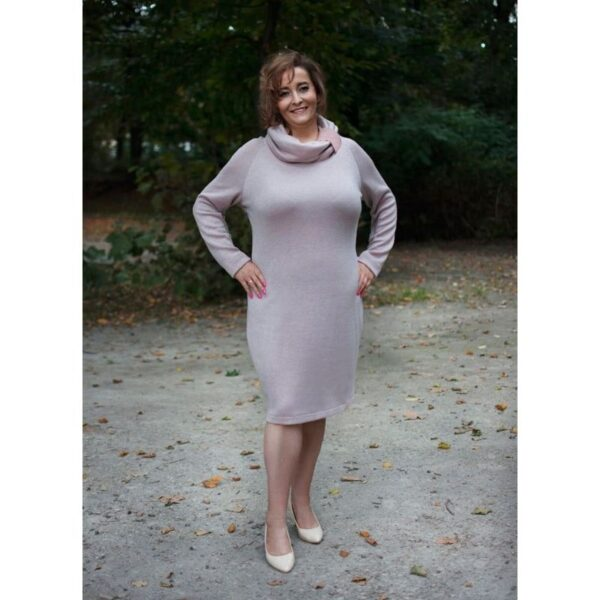 wykrój na sukienkę damską Nel plus size