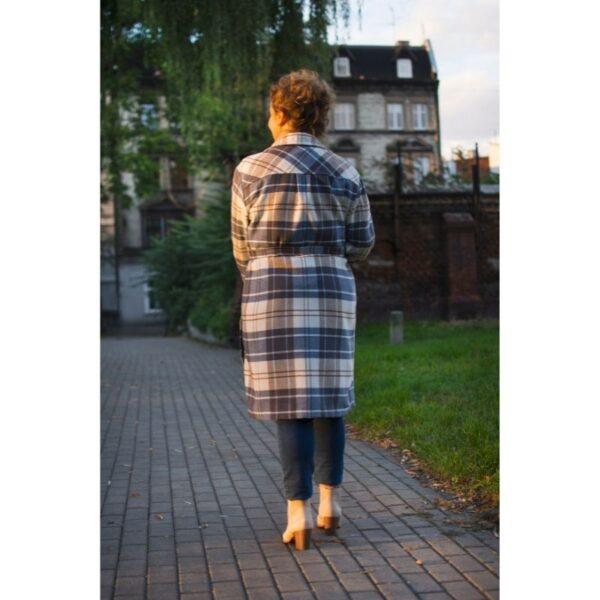 płaszcz koszulowy Reja wykrój online